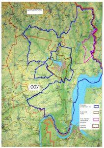 Карта охотничьих угодий воткинска (ОХОТУГОДИЙ)